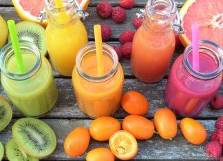 ovocné šťávy