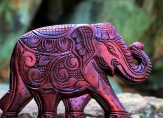 soška slona