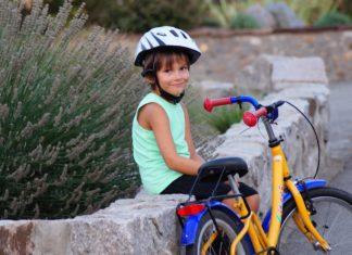 dítě a kolo