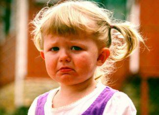 dítě pláče